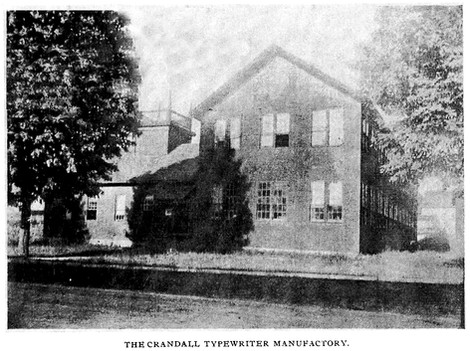 Crandall Typewriter Factory Groton, NY