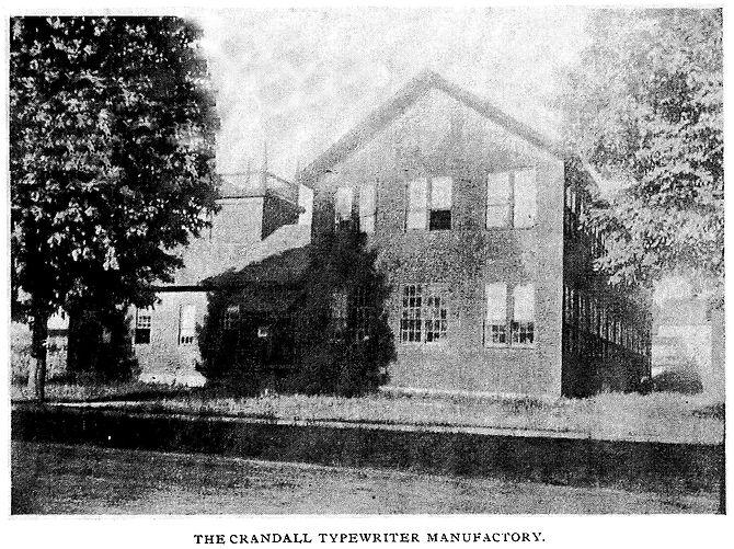 Crandall Typewriter Factory