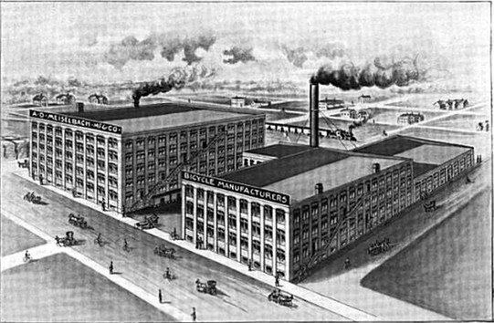 A. D. Meiselbach Manufacturing Company Factory
