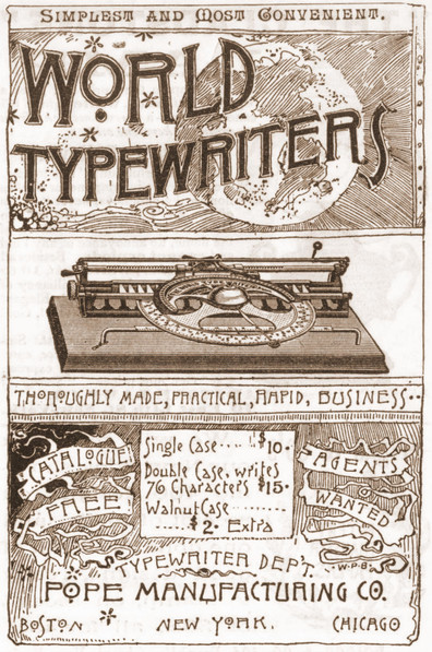 World Typewriter Ad