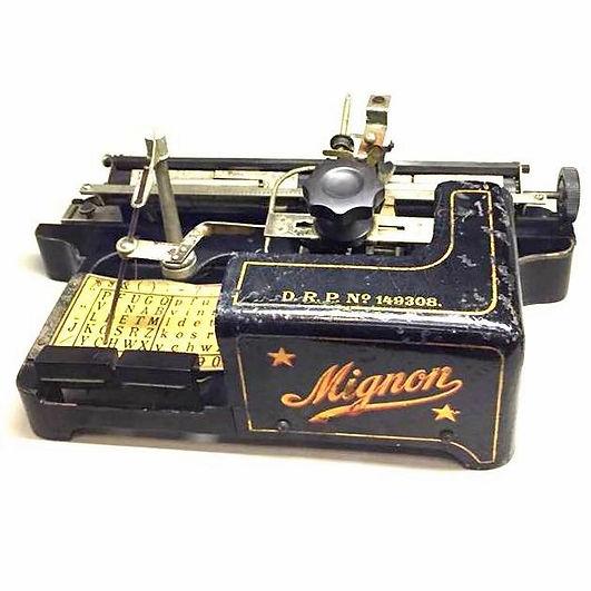 Mignon Typewriter Schreibmahine