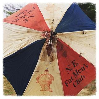 Fat Mens Club Northeast Chapter Umbrella