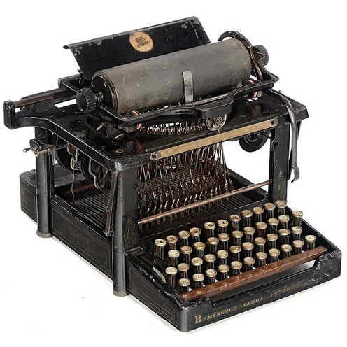 Perfected Remington No.4 Typewriter