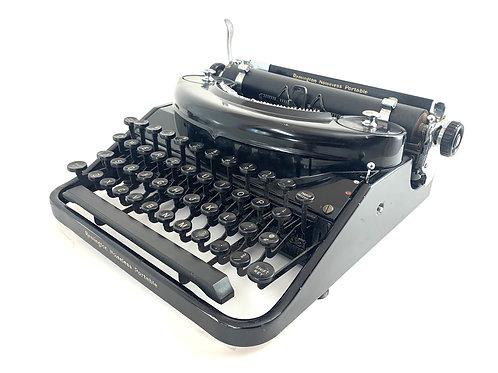 1933 Remington Noiseless Portable Typewriter ; Working