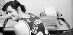 Sportswriter Frank Deford