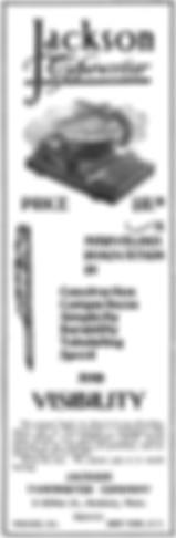 Jackson Typewriter Ad November 1899