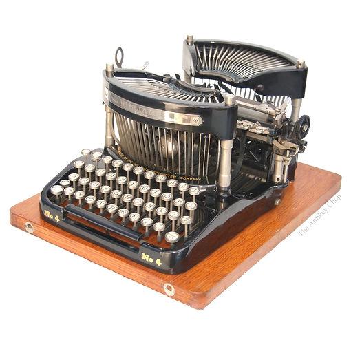 Williams No.4 Typewriter from AntikeyChop.com