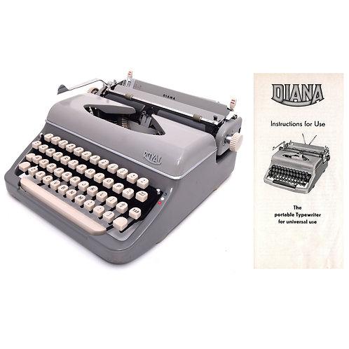 Royal Diana Typewriter Instruction Manual