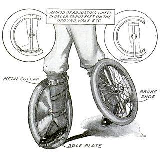 Antique Roller Skates