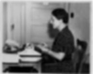 Gwen Bristow Manning w/ Typewriter