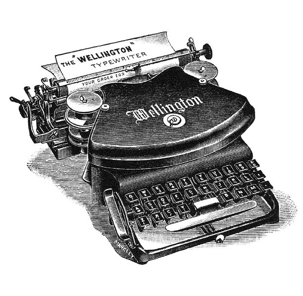 Wellington Typewriter Model No.1