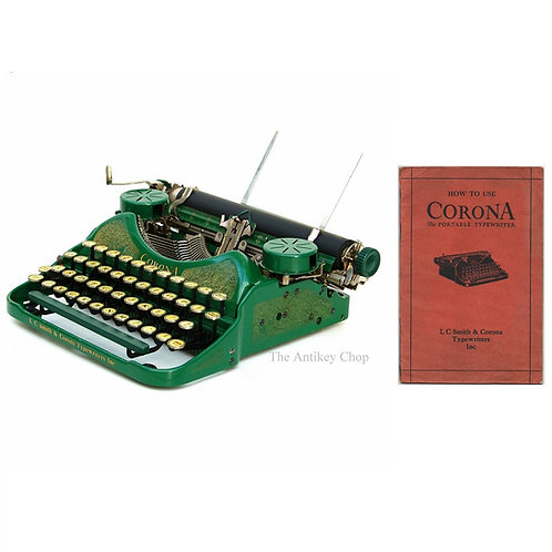 Smith Corona Four Typewriter Instruction Manual