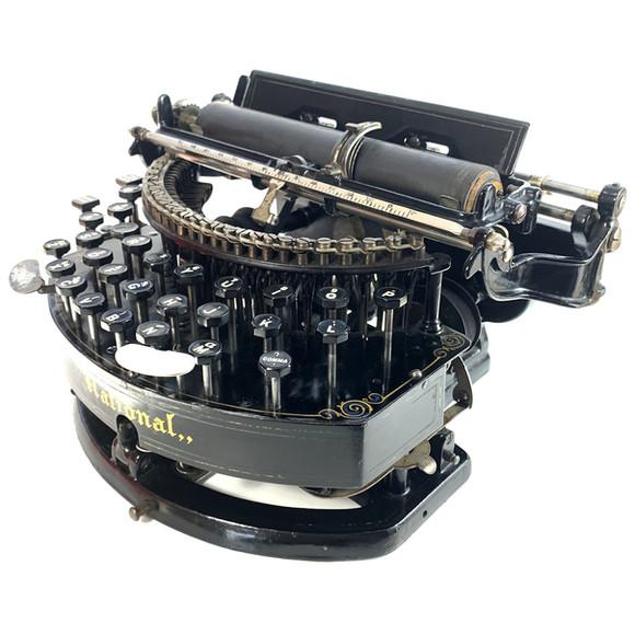 National No.1 Typewriter
