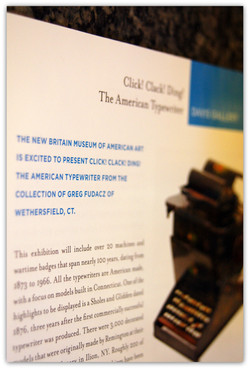 2014 Typewriter Exhibition