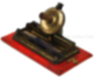 Stollwerck Eureka La Française Index Toy Typewriter