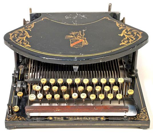 The Maskelyne Typewriter