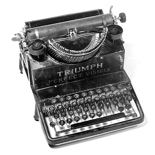 Triumph Perfect Visible Typrwriter