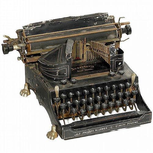 Secretary of New York Typewriter