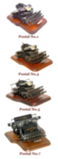 Postal Typewriter Models