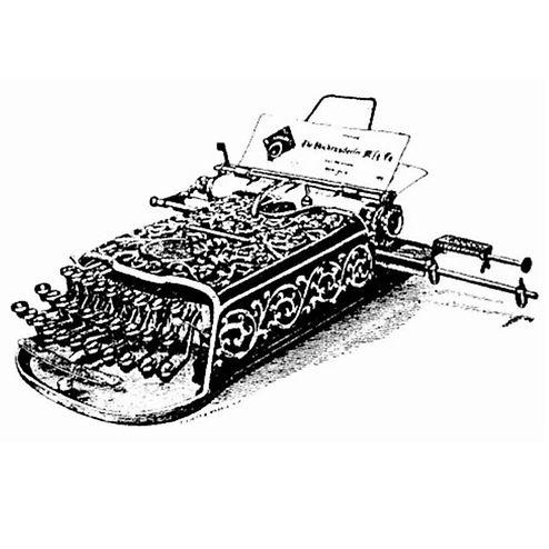 Blickensderfer No.3 Typewriter