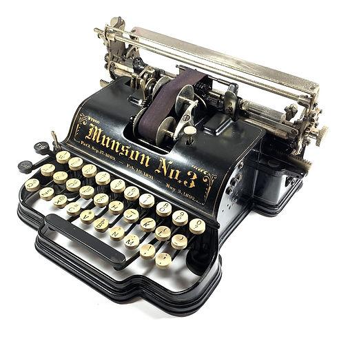 Munson No.3 Typewriter