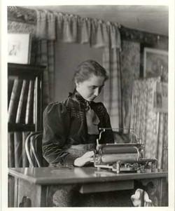 Author Helen Keller
