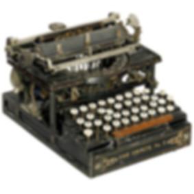 Shimer No.2 Typewriter