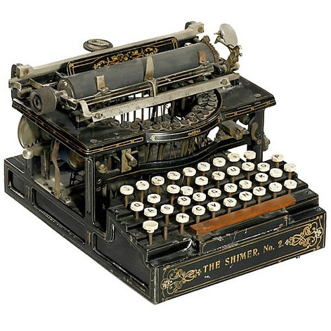 Shimer No.2 Typewriter
