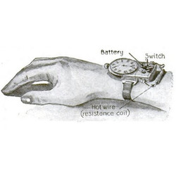 Silent Alarm Wristwatch