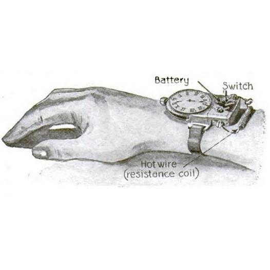 Gill Silent Alarm Wristwatch