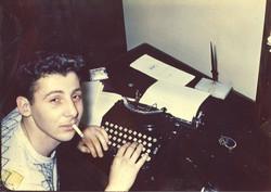Novelist Stanley Elkin