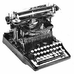 Waterbury Standard Visible, aka Acme, Typewriter