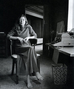Novelist Joan Didion