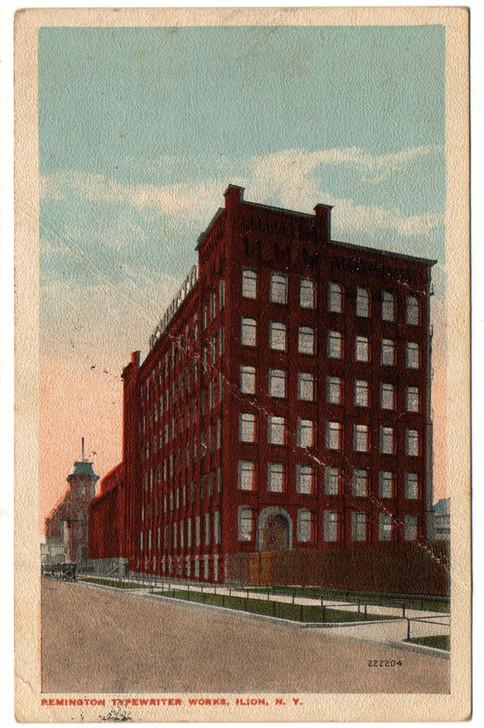 Remington Typewriter Works Factory