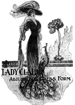 Lady Claire Dress Form