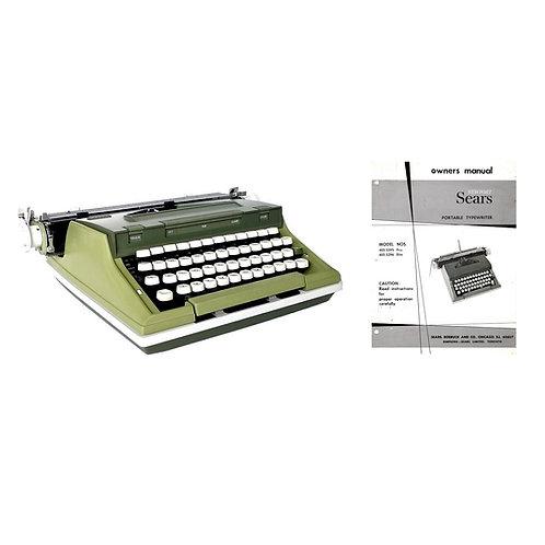 Sears Newport Typewriter Instruction Manual