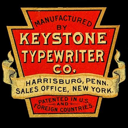 Keystone Typewriter Logo