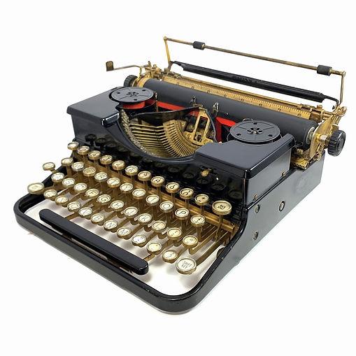 Gold Royal Typewriter