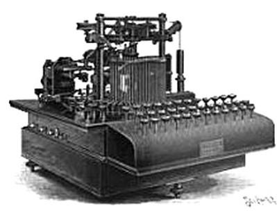 Zerograph Telegraph Typewriter