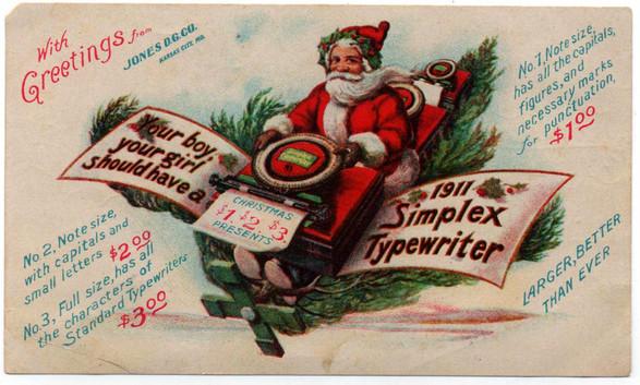 Simplex Typewriter