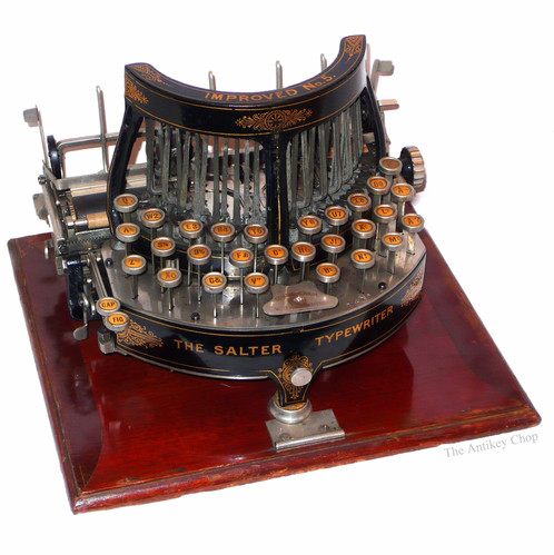 The Salter Typewriter