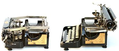 Gold Corona Special No.3 Folding Typewriter