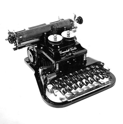 Crandall Visible No.4 Typewriter