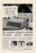 Remington Quiet Riter Typewriter Ad 1952