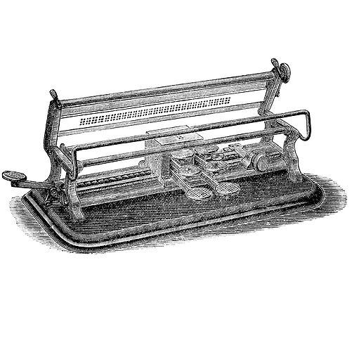 Kovako Braille Typewriter