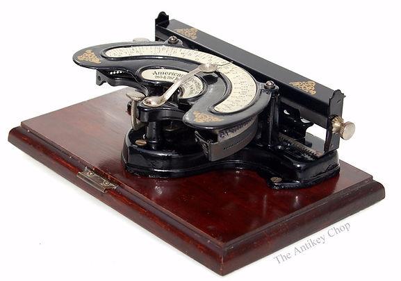 American Index No.2 Typewriter
