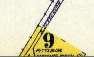 Pittsburg Writing Machine Company Factory Location