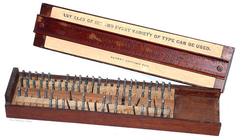 The Golden Rule Typewriter