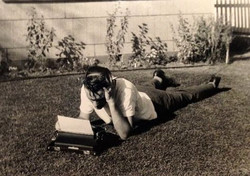 Novelist George Bowering