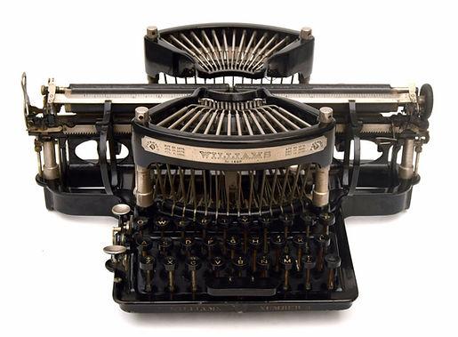 Williams No.3 Typewriter